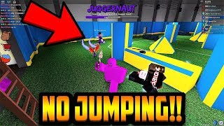 NO JUMPING CHALLENGE!! (ROBLOX ASSASSIN)