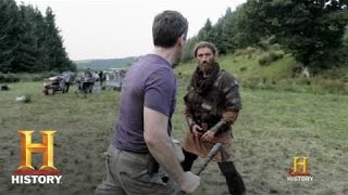 Repeat youtube video Vikings: How to Throw a Punch   History