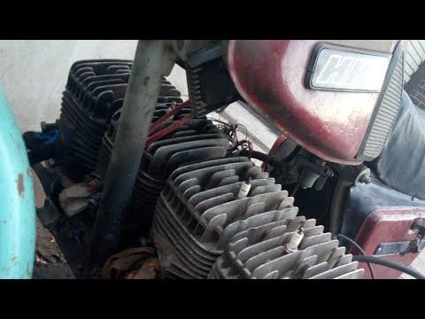 Четырехцилиндровый иж юпитер 5 (700см3 50 лошадей) #:1 Двигатель собран!