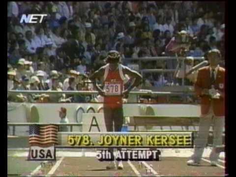 1988 Seoul Olympics Jackie Joyner Kersee 7 40