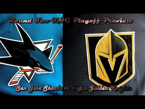 Round Two Playoff Preview of Sharks vs Golden Knights