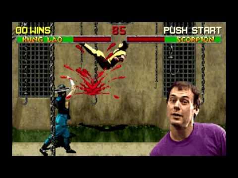 Что кричит рожа в углу экрана Mortal Kombat