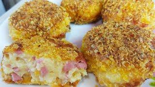 Этот Быстрый  Завтрак Покорит Каждого ! Котлеты из Сосисок и Сыра.