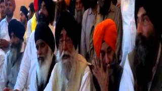Simranjit Singh Mann Started His Campaign from Khadoor Sahib Press Conference (Part 1)