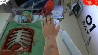 Surgeon Simulator 2013 - Пересадка сердца в КОСМОСЕ!(Surgeon Simulator это игра, в которой вам придется побывать в роли молодого хирурга, который не прочь побаловать..., 2013-08-25T11:28:51.000Z)