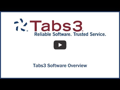 Tabs3 Software Overview thumbnail