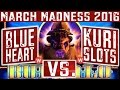 ★ MARCH MADNESS 2016 ★ BUFFALO Slot Machine (WEST ROUND 2)