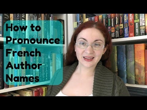 Pronunciation Guide for French Authors