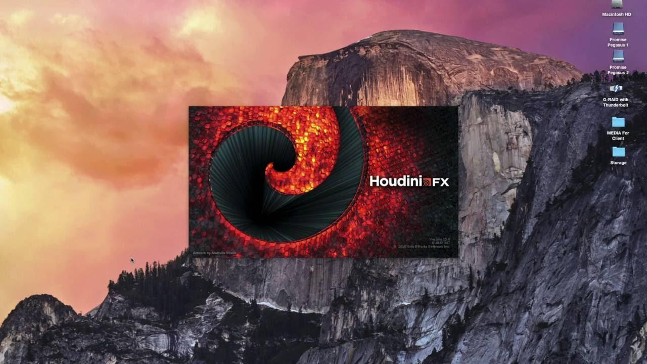 Houdini – Shotgun Support