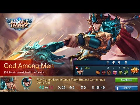Yun Zhao - God Among Men - Rare - 25 killed without dead