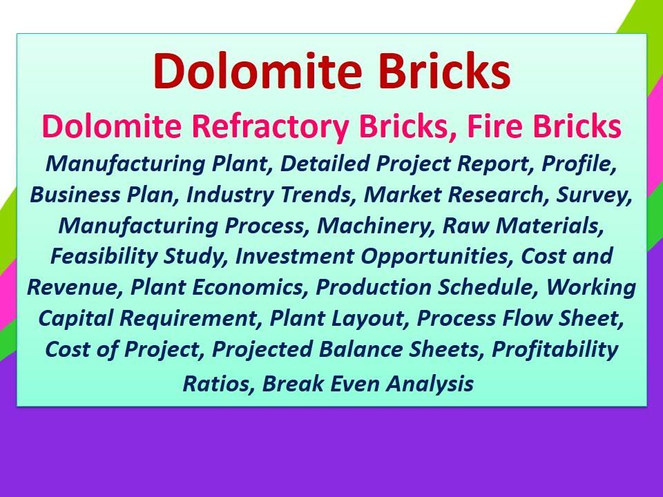 Dolomite BricksDolomite Refractory BricksFire Bricks