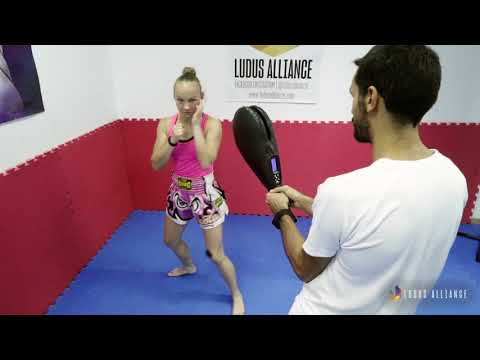 Ludus Alliance - Training Center | Spinning Back Fist - Response Time (Kickboxing)