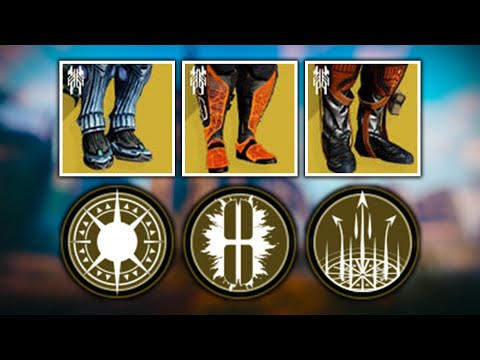 ALL Splicer Exotics (Star-Eater Scales, Boots of the Assembler, & Path of Burning Steps)   Destiny 2