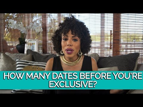 How Many Dates Before You're Exclusive