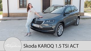 2017 Skoda KAROQ 1.5 TSI DSG (150 PS) Fahrbericht / Mit VarioFlex und digitalem Cockpit - Autophorie