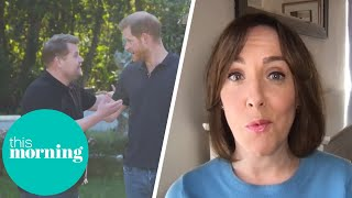 Royal Expert's Reaction to Prince Harry's James Corden Interview | This Morning