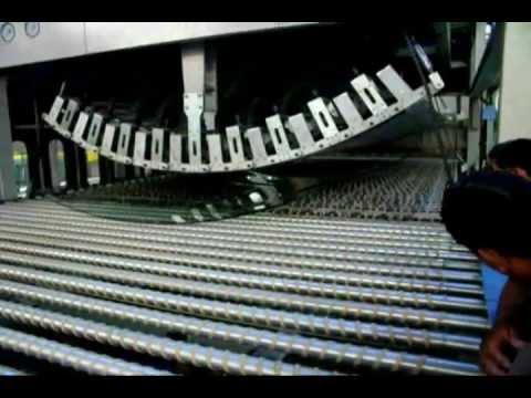 Jordon Glass Bend Tempering Furnace Youtube