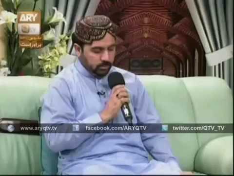 Beautiful Naat Sharif In Urdu Ahmad Ali Hakim 2017 live On  QTV
