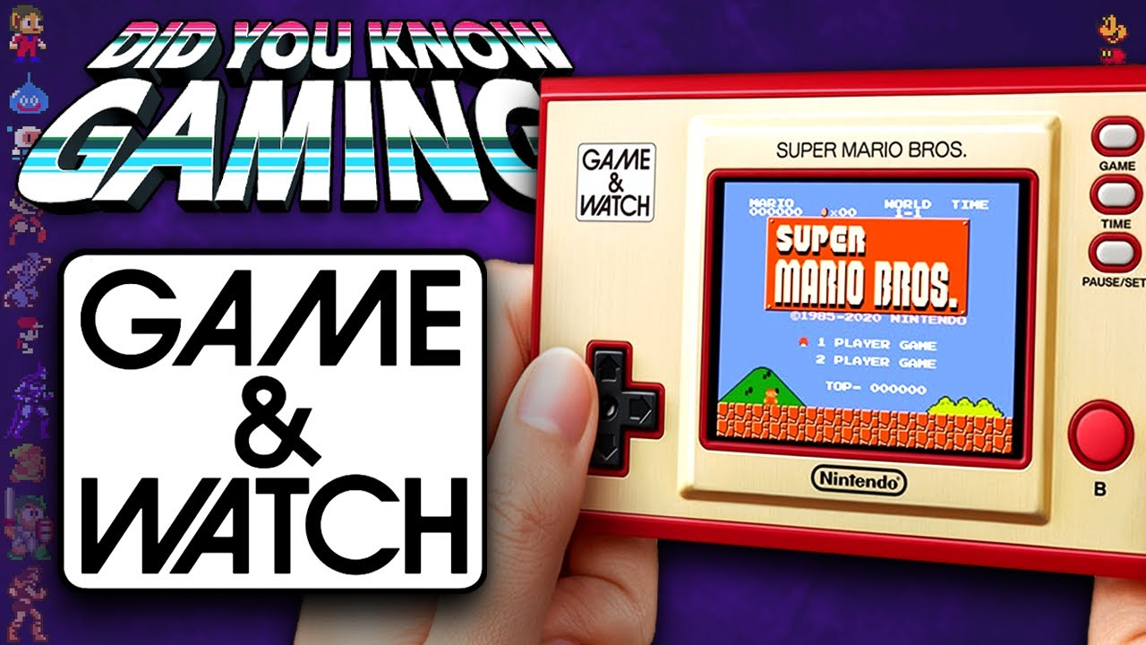 Nintendo's Game & Watch - Did You Know Gaming? Ft. Remix