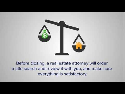 What does a real estate attorney do?