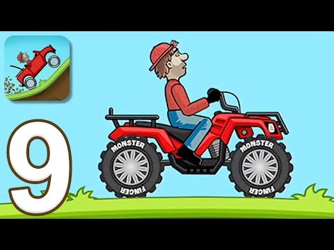 Hill Climb Racing - Gameplay Walkthrough Part 9 - Quad Bike (iOS, Android)