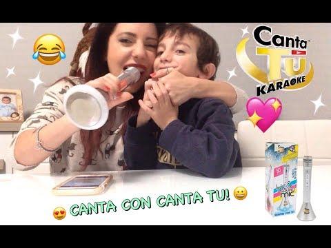 CANTA TU KARAOKE LIGHT & SOUND MIC 💖 GIOCHI PREZIOSI 💖 CANTIAMO INSIEME 😂😀 REVIEW ITA ITALIA 💖