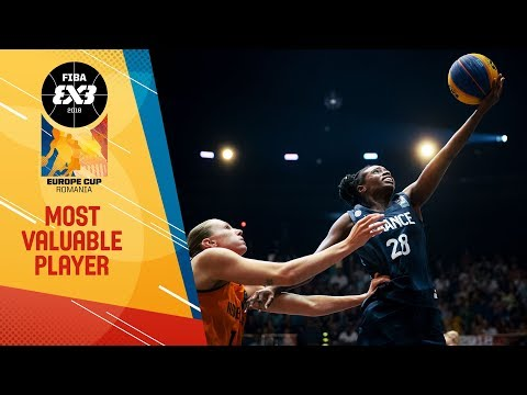 Migna Touré - Women's MVP - FIBA 3x3 Europe Cup 2018