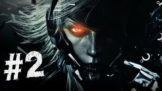 Metal Gear Rising Revengeance Gameplay Walkthrough Part 2 - Jack the Ripper - Mission 2