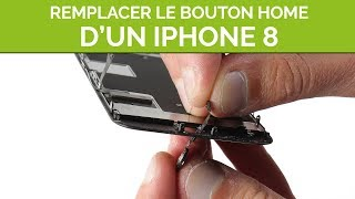 Remplacer le bouton home de son iPhone 8. By SOSav