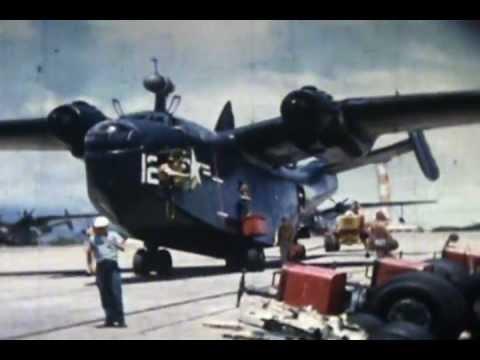 """1950's MARTIN PBM-5 """"MARINER"""" PATROL SQUADRON 16mm FILM"""