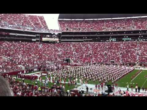 First Alabama Home Game Entrance in Bryant–Denny Stadium. SEC (2012 Western Kentucky)