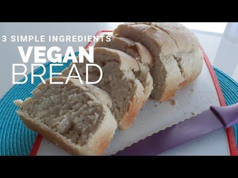 How To Make Vegan Bread Sugar Oil Salt Free Youtube
