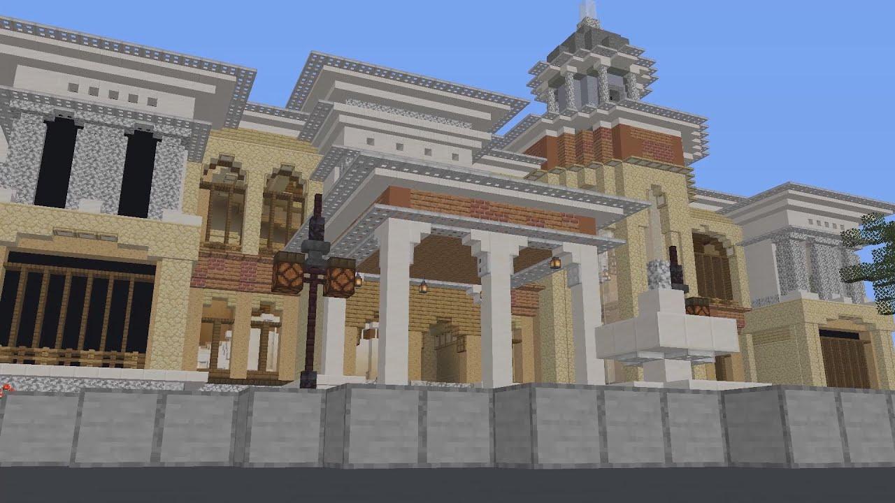 Minecraft's Biggest Mansion... (Ft. Mr Beast)