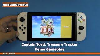 Nintendo Switch Captain Toad: Treasure Tracker Demo Gameplay