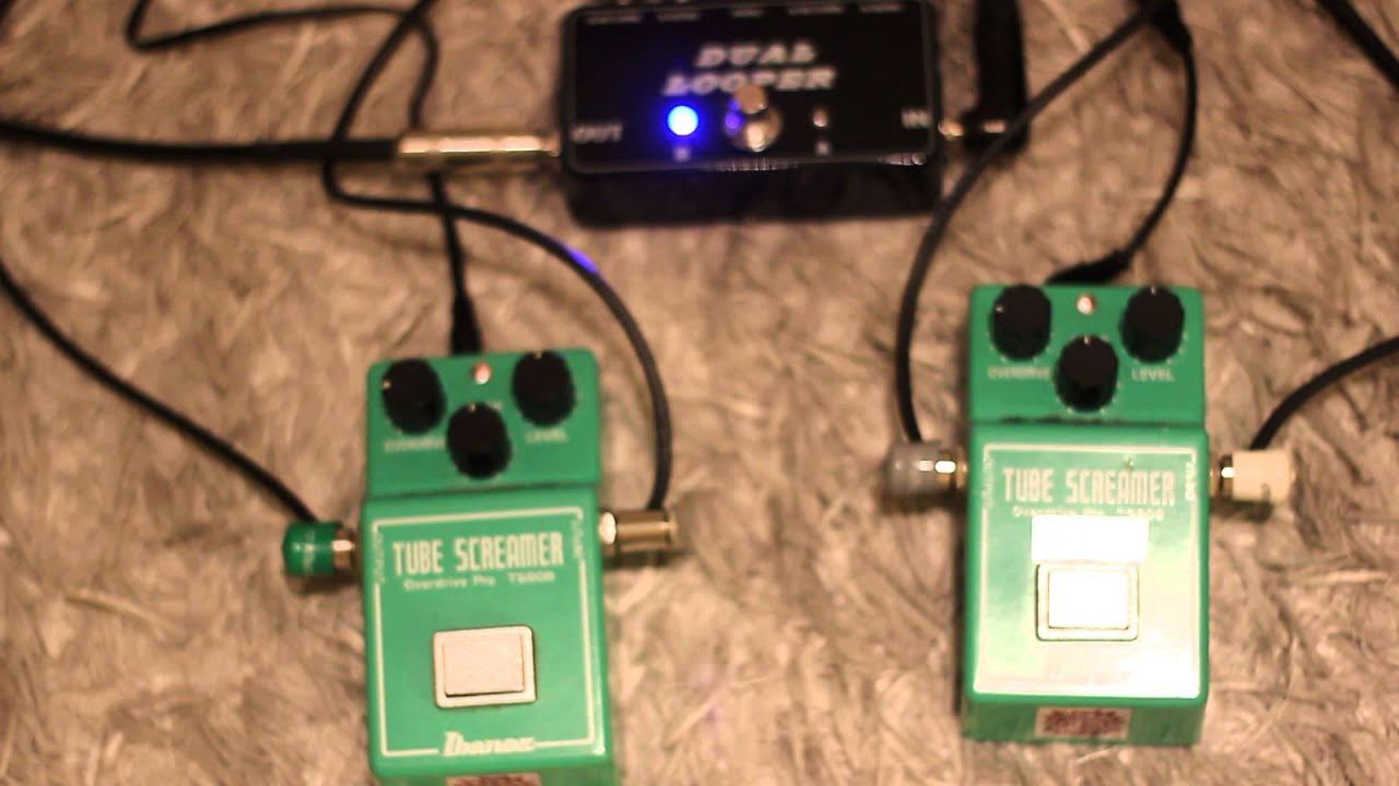 Bedroom Level Crawler Pt 13 - Ibanez TS-808 True Vintage Mod vs  Analogman  Silver Mod