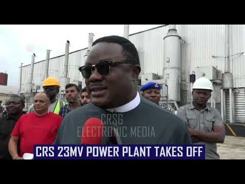 [VIDEO] 23 megawatts Calabar power plant, a dream fulfilled- Ayade