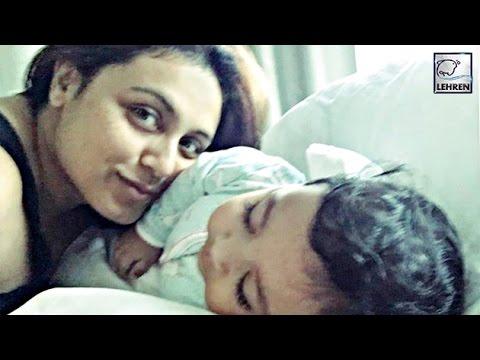 Rani Mukerji's BABY Adira's FIRST LOOK | Aditya Chopra | LehrenTV