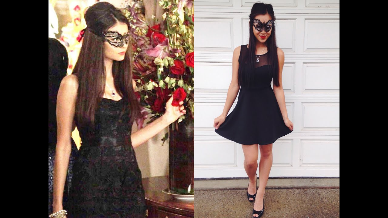 Exceptionnel Katherine Pierce Inspiration Costume Tutorial - YouTube NM83