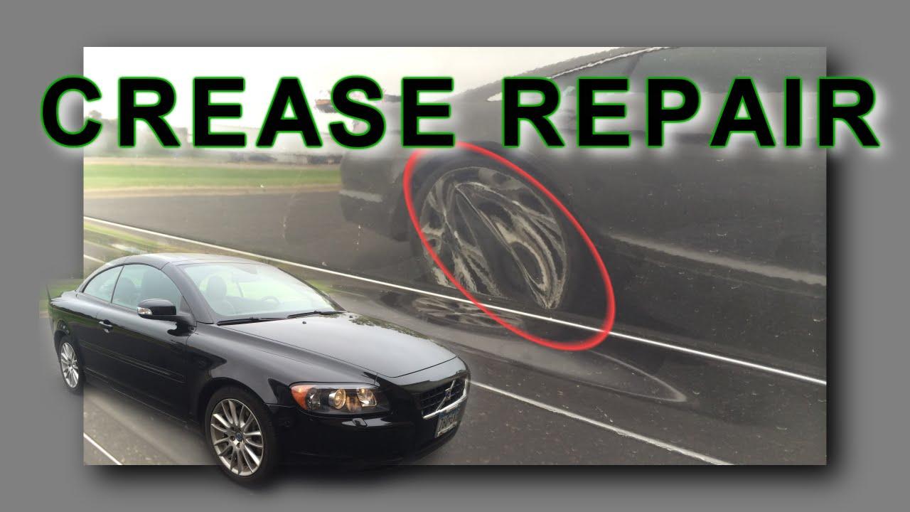 Crease Dent Removal Mn Door Crease Repair On Volvo