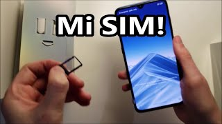 Xiaomi Mi 9 SIM Card How to Insert
