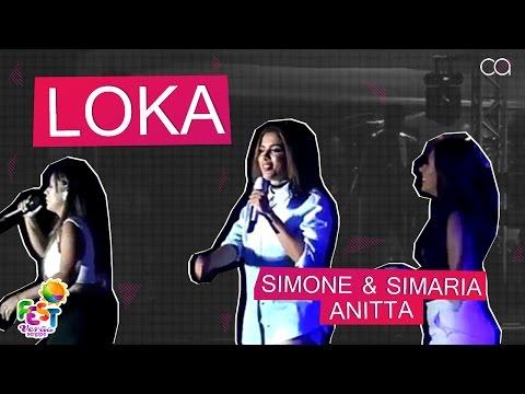Simone & Simaria part Anitta - Loka  Fest Verão Sergipe
