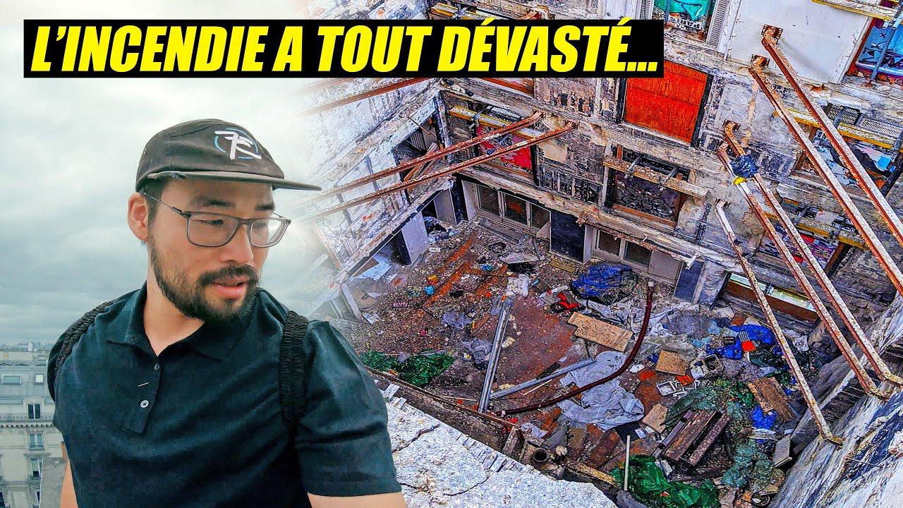 REPRISE TOITS : Un immeuble incendié à Paris.. 😨