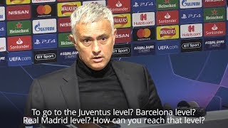 Jose Mourinho Underlines Gulf In Class After United's Loss To Juventus