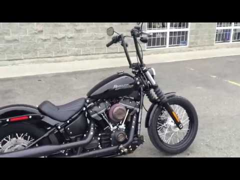 2018 harley davidson fxbb street bob custom youtube. Black Bedroom Furniture Sets. Home Design Ideas