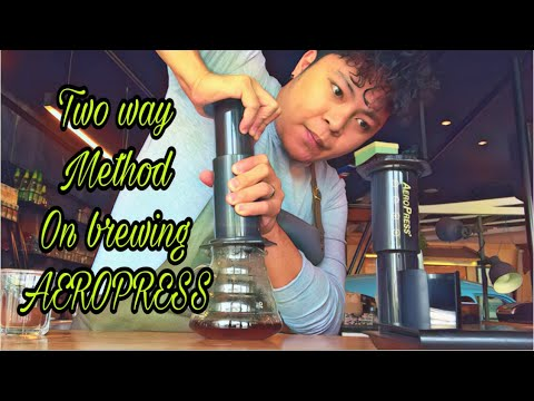How to use AeroPress this 2019 : Top down method and inverted method tutorial