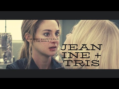 Jeanine + Tris   Divergent   Everybody Wants To Rule The World