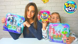 Pikmi Pops Surprise СЮРПРИЗЫ ПИКМИ ПОПС куклы Энчантималс распаковка