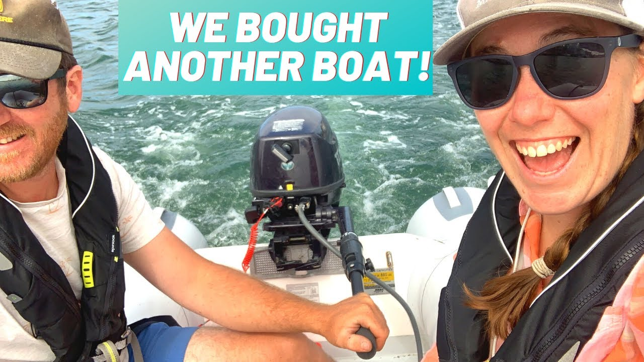 EP 25: We Bought Another Boat! Upgrading Our Dinghy | Two the Horizon Sailing