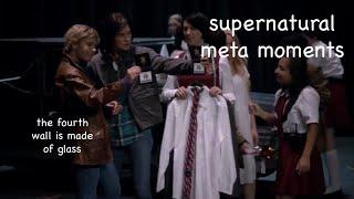 supernatural smashing the fourth wall