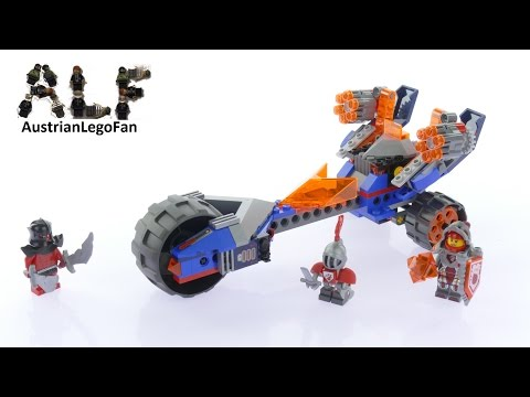 Lego Nexo Knights 70319 Macy´s Thunder Mace - Lego Speed Build Review